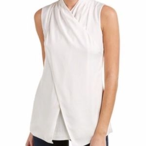 Cabi 3259 Wrap Around Sleeveless Tunic Blouse